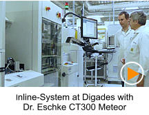 Inline-System at Digades with Dr. Eschke CT300 Meteor